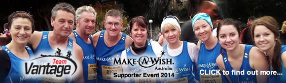 Click to find out more about 'Team VAntage' and 'Make a Wish'.